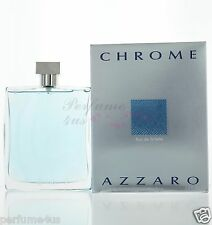 Azzaro Chrome Eau de Toilette 6.8 Oz /200mL for Men Brand new in Sealed Box