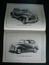 AUSTIN A40 devon dorset BROCHURE MANUAL A 40 pickup van 1949