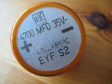 Elektrolyt Kondensator 4700uF 35V, Topfform