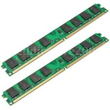 4GB 2x2G PC2-6400 DDR2 800 240Pin DIMM Desktop Memory RAM For AMD Motherboard