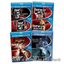 Friday The 13th Series Complete In Print Box/BluRay Part 1-6 Freddy v Jason Sets