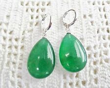 """Gorgeous Long Candy Jade Drop Earrings """"CHECK LISTING"""""""