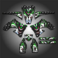 KAWASAKI KX450F KXF 450 2009 - 2011 GRAPHICS KIT DECALS EVIL JOKER BLACK GREEN