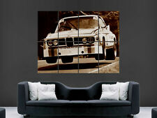 BMW CLASSIC CAR RALLY VINTAGE  LARGE PICTURE POSTER GIANT