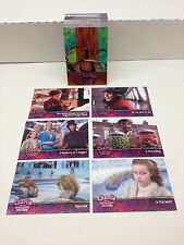 CHARLIE & THE CHOCOLATE FACTORY (2005) Complete Card Set JOHNNY DEPP TIM BURTON