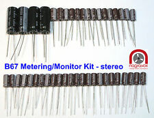 Studer B67  METERING / MONITOR STEREO capacitor & preset trimmer overhaul kit