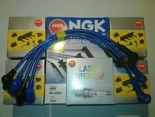 ** MAZDA RX8 NGK COIL COILS +GENUINE SPARK PLUGS + NGK WIRES SERVICE KIT **