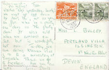 Genealogy Postcard - Family History - Bulley - Near Newton Abbot - Devon   U777