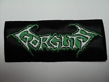 GORGUTS  LOGO  EMBROIDERED PATCH
