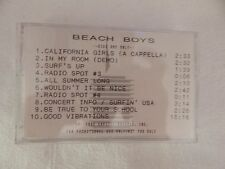 "The Beach Boys ""30 Years Box""  ADVANCE SAMPLER Cassette NEW! BEYOND RARE!"