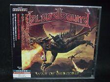 BLOODBOUND War Of Dragons + 1 JAPAN CD Dawn Of Silence Shadowquest Street Talk