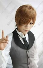 Hot! 9 Colors New Handsome Short Men's Hair Wig Cosplay Wigs