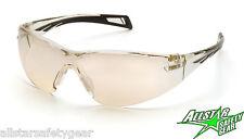Pyramex PMX Slim Clear Mirror Lens Safety Glasses SB7180S Womens I/O Youth Shoot