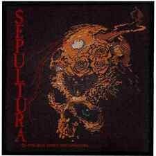 Sepultura Beneath The Remains Woven Patch Heavy Metal Official New