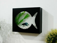 Modern Betta Fish Tank Aquarium Desktop Aquarium or Wall Mounted Fish Aquarium 1