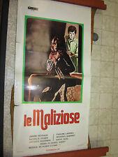 LOCANDINA ORIGINALE DEL FILM LE MALIZIOSE