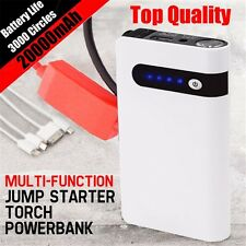 20000mAh Car Jump Starter Battery Charger Portable Power Bank Backup Minimax Kit
