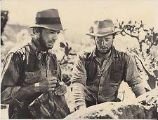 """""""Schatz der Sierra Madre"""" (Pressefoto '77) - Humphrey Bogart / Tim Holt"""