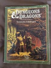 Dungeons & Dragons D&D Creature catalogue AC9 9173 TSR from 1986