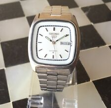 Rare SEIKO 5 Automatic Chinese & English Day/Date. 6309-5360 SS Men's Watch