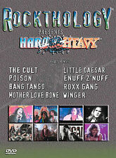 Hard And Heavy: Rockthology (DVD, 2003) The Cult, Poison, Mother Love Bone, etc.