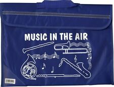 Brass & Woodwind Sax Flute Music School Bag Holdall BLUE Musician Gift