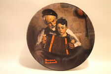 Norman Rockwell Heritage Collection The Music Maker Fine China Collector Plate