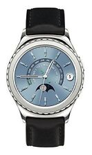 Samsung Galaxy Gear S2 classic  Silver Platinum Plated  Case Black Classic Buck