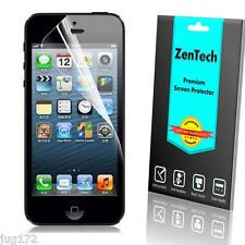 4X ZenTech Clear Screen Protector Guard Shield Armor For Apple iPhone SE 5S 5
