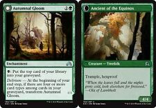 4x 4 x Autumnal Gloom // Ancient of the Equinox Uncommon MTG Shadows over Inn