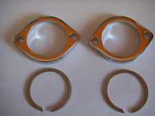Chrome Exhaust Flange kit to fit Harley-Davidson 1984 & later 990022