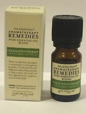 Bath Body Works Aromatherapy Remedies Pure Essential Oil COLD & SINUS THERAPY