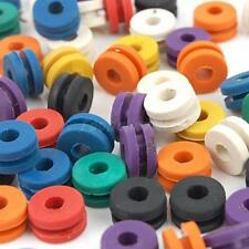 100x Assorted Tattoo Rubber Grommets Nipples Needle Armature Bar Supplies