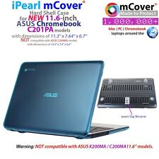 "NEW mCover® Hard Shell Case for 11.6"" ASUS Chromebook C201PA model"