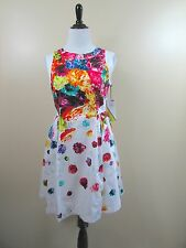Prabal Gurung For Target Floral Crush Flare Full Skirt Size 10 NWT New