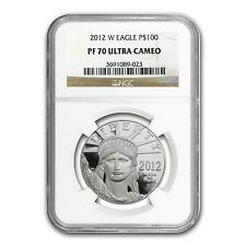 2012-W 1 oz Proof Platinum American Eagle Coin - PF-70 NGC - SKU #73561