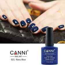 21 NAVY BLUE DARK UV LED SOAK OFF GEL POLISH COAT COLORS NAIL ART UK SELLER
