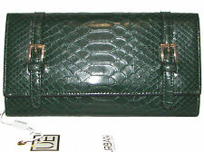URBAN EXPRESSIONS Green Michelle Trifold Clutch Wallet NWT