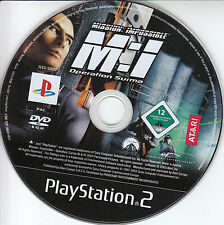 Sony PS2 Play Station 2 Mission Impossible Operation Surma Nur Spiele Disc PAL