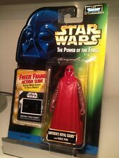 FIGURINE KENNER HASBRO 1997 EMPEROR'S ROYAL GUARD  STAR WARS POWER OF THE FORCE