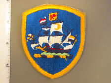 Early New York State Guard shoulder patch from NS Meyer Library new never issued