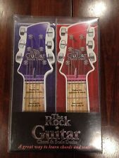 NEW The Rock Guitar Chord & Scale Decks. Learn to Play with Tab Book