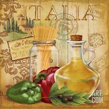 Italian Kitchen II Art Print by Conrad Knutsen - 12x12