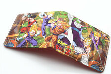Anime Wallet Dragon Ball Z DBZ Bifold Walle cosplay Son Goku leather Purse