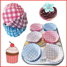 60 Cupcake Cases Disposable Paper Cups Party 7cm Baking Muffins Decor Cup Wraps