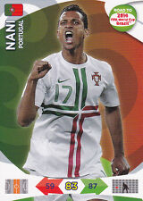 Adrenalyn XL Road To 2014 FIFA World Cup Card - NANI - Portugal - Panini