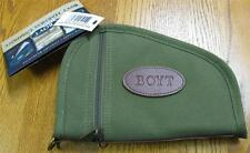 "NEW Boyt Harness OD Green 10"" Pistol Revolver Gun Rug Case w/ Pockets PP41 Heart"