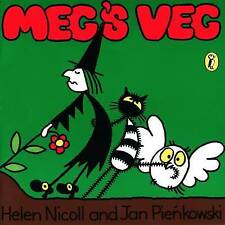 Meg's Veg (Meg and Mog) by Jan Pienkowski, Helen Nicoll, Book, New