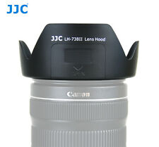 JJC LH-73BII Lens Hood for CANON 17-85mm f/4-5.6 18-135mm f/3.5-5.6 IS re EW-73B