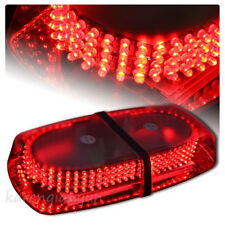 240 LEDs Red Car Police Top Roof Emergency Beacon Warning Flash Strobe Light Bar